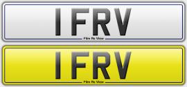 1 FRV plate
