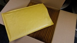 F3 size Gold Mailers 5 tapes
