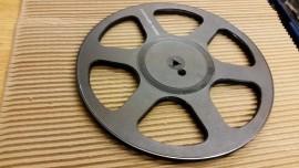 Agfa 10.5 inch plastic reel spool 1/4