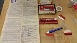 Complete BIB cassette care kit splicer