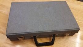 vintage worn 40 way cassette carry case