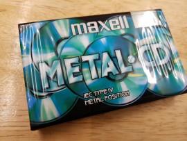 Maxell Metal CD C60 cassette tape