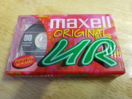 Maxell UR 90 C90 pink