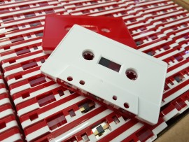Red + White Cassettes