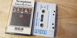Scorpions Taken By Force cassette