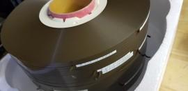 Audio Pancake reels of ferric cassette tape