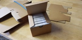 small card box 6 tapes