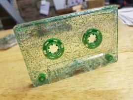 Green Glitter Tapes