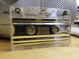 Metallic Silver Liner Tapes
