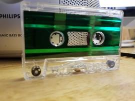 Green Metallic Liner cassette