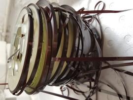 Ferric tape reel end