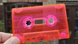 light pink white hub clear cassette