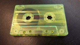Yellow clear cassette