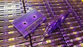 Purple clear cassette