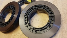 1/2 inch hub with tape