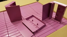 Purple Mauve solid case **NEW**