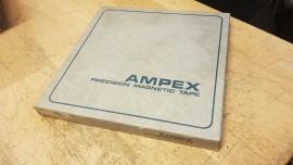"ampex 456 1/2"" empty spool/box"