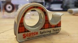 Vintage tape splice dispener