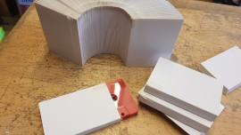B grade slipcase card sleeves
