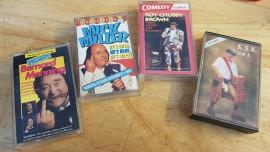 4 x Comedy cassette tapes