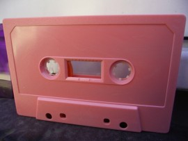 baby pink cassettes