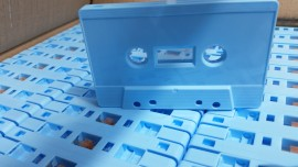 baby blue cassettes