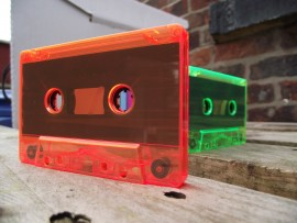 FLO orange cassettes