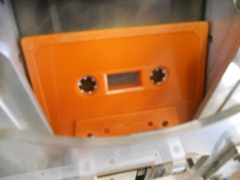 Rustic orange blank tapes