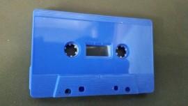 Blue cassette tapes1125