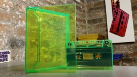 Green Double Cassette Cases